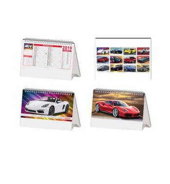 Auto Calendario da tavolo illustrato 12_13 ff